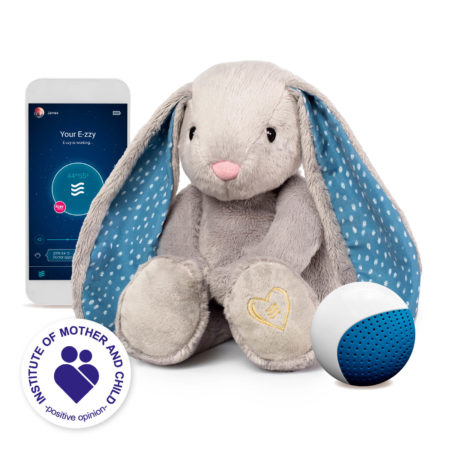 E-zzy Milo the Humming Bunny with an app and the CRYsensor function
