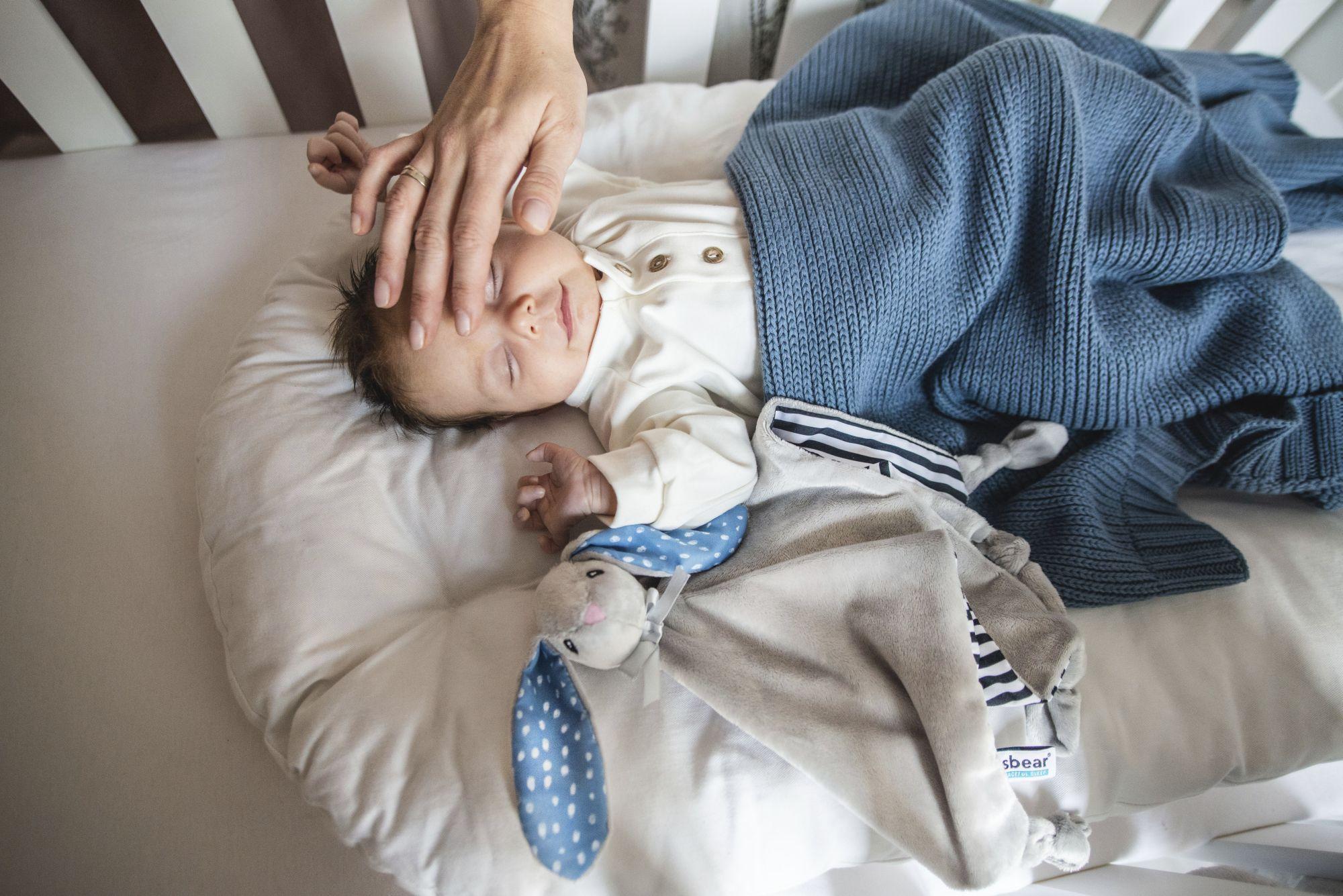 Problemy ze snem u niemowlaka w dzień? Whisbear jest rozwiązaniem!
