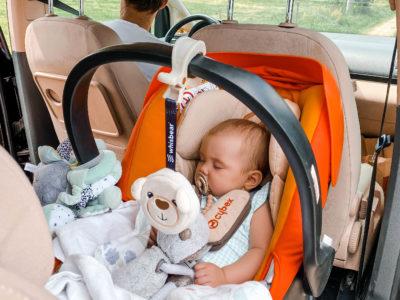 jazda z niemowlakiem