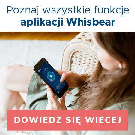szumiące produkty Whisbear ezzy aplikacja
